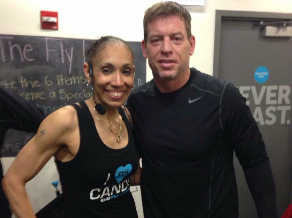 Troy Aikman Indoor Cycling